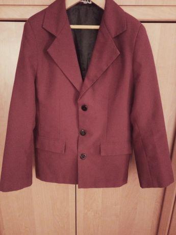 Пиджак школьный бордовый для мальчика