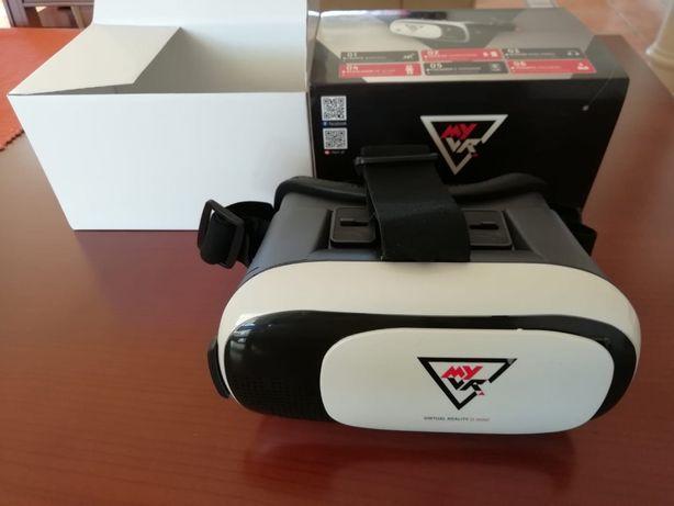 Óculos Realidade Virtual (VR) 3D - Novos
