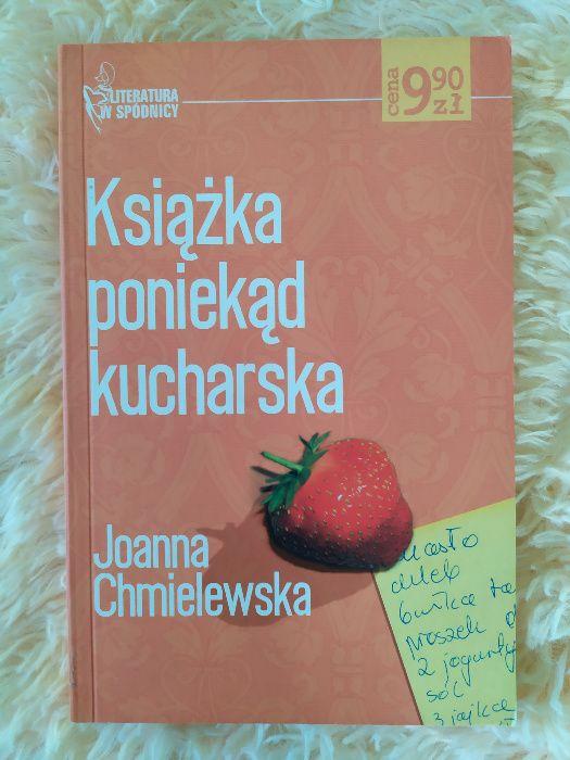 Książka poniekąd kucharska Joanna Chmielewska Andrychów - image 1