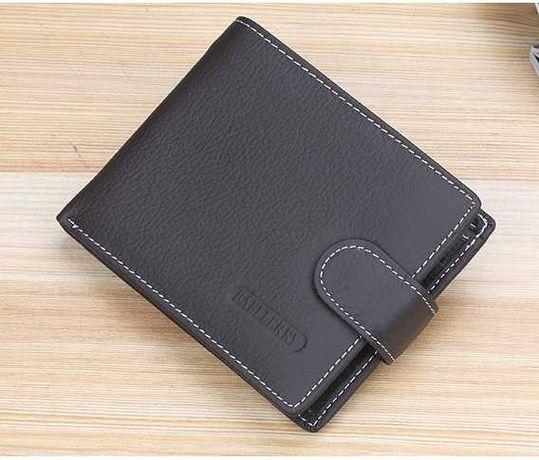 Мужской бумажник, портмоне кошелек кожаный