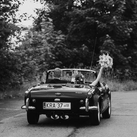 Triumph Spitfire auto do ślubu, sesji, filmu, na przejażdżkę