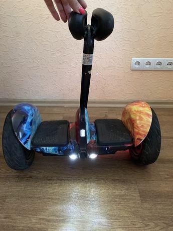 Гироскутер Ninebot  Mini красно синие пламя