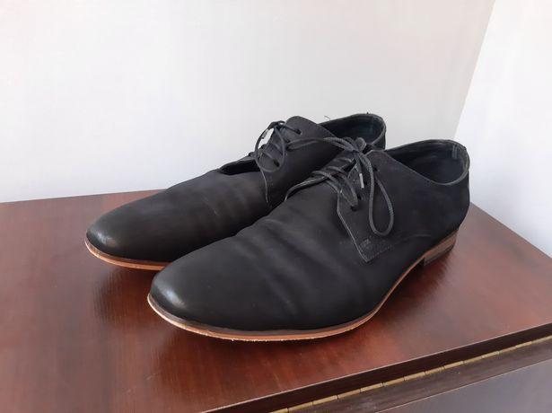 Туфли натуральный натуральный 46 р.