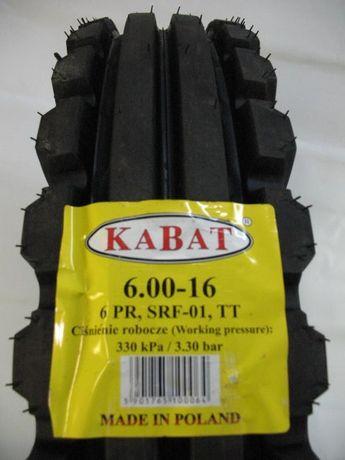 Opony 6.00 - 16 rolnicze przód KABAT URSUS C330, C360, T25 6,00 - 16