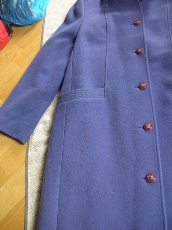 Damski płaszcz wełniany S/M lambswool 36/37 kurtka jesionka wełna 100%