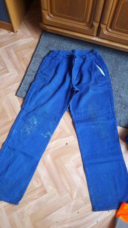 Spodnie kamizelka robocze ubranie