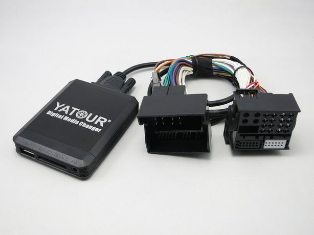 usb aux адаптер Ятур Yatour M-06 для Renault REN12