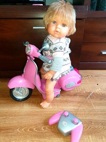 Skuter elektryczny na pilota Baby born dla lalek