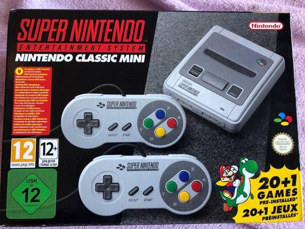 Super Nintendo Classic Mini - Nova na caixa