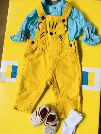 Одежда для мальчика 6 мес-2 год