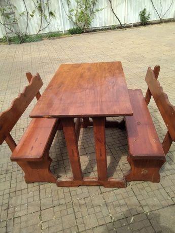Комплект стол и лавочки