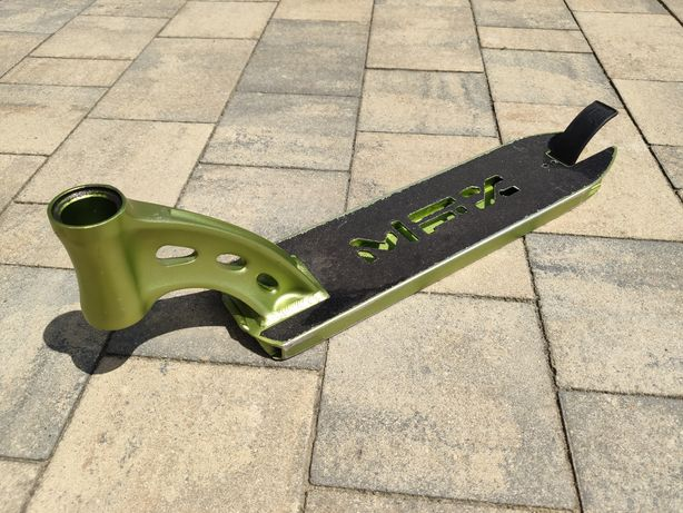 Deck (Podest) do hulajnogi MGP MFX 4.8 z hamulcem, zielony metalik