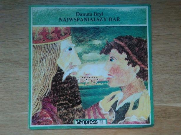 Bajka na płycie winylowej Najwspanialszy dar - Danuta Bryl