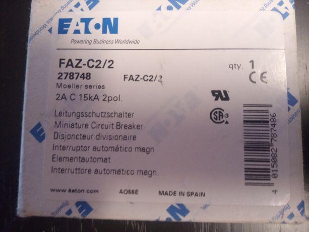 Eaton Wyłącznik nadprądowy FAZ-C2/2 kod eaton 278748