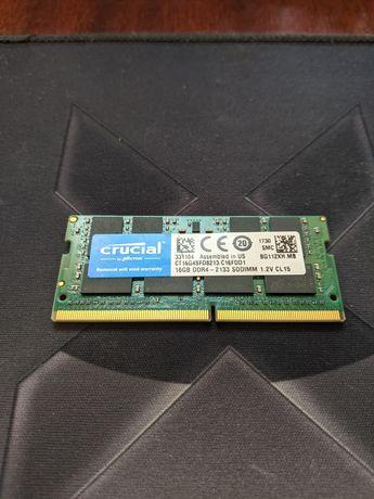 Crucial DDR4 2133 16 GB ноутбучная память ОЗУ RAM