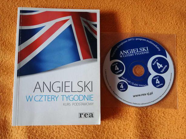 Angielski w cztery tygodnie. Kurs podstawowy + CD gratis.