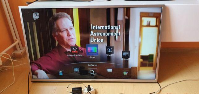 Telewizor (Smart TV) Toshiba 46TL933 + Okulary 3d aktywne.