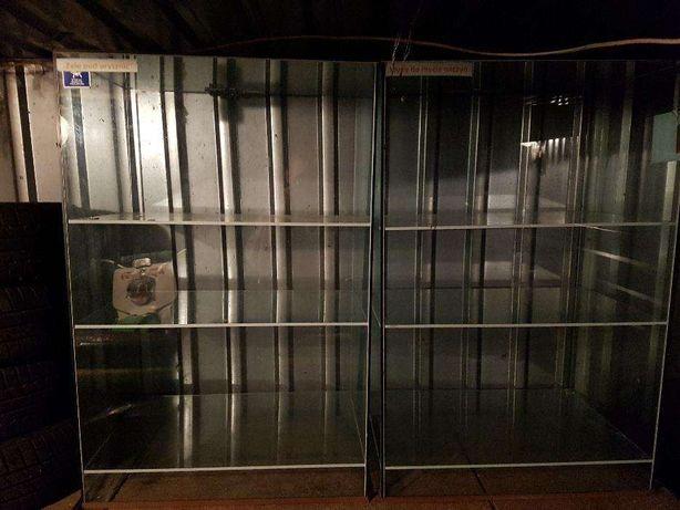 Szafki szklane używane