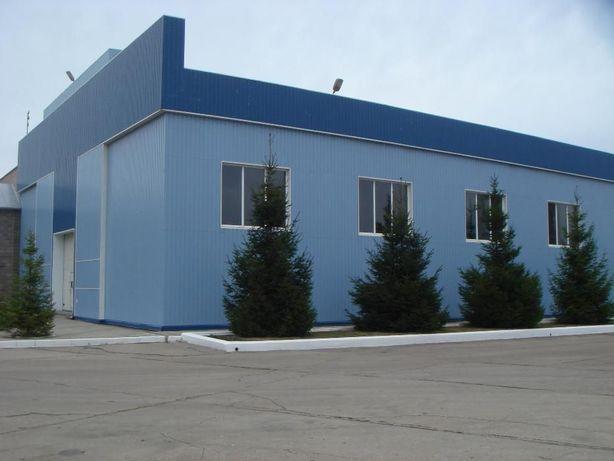 Производственный, складской комплекс. 3630 кв.м. ЖД ветка. ГОС Акт