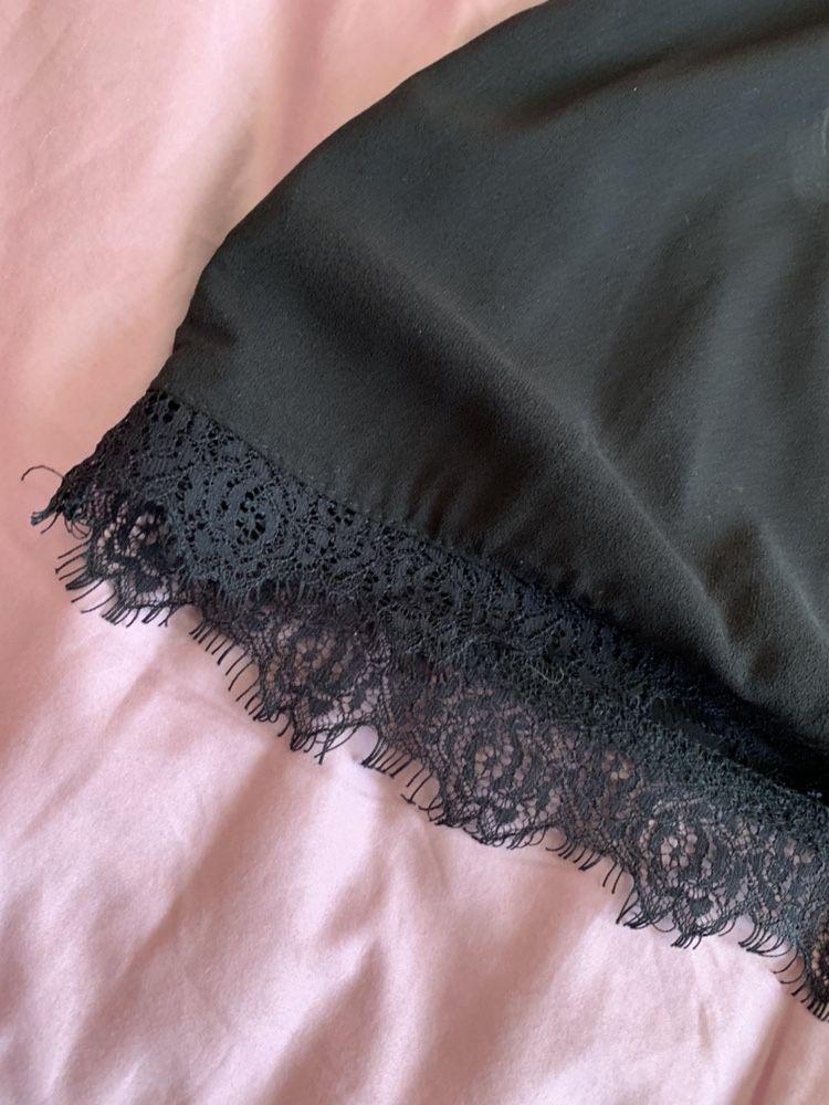 Платье чёрное S M