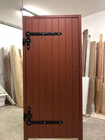 Drzwi sosnowe zewnętrzne zetka