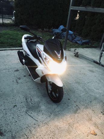 Honda pcx 125 start stop ledy