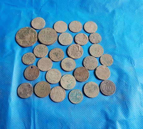 Монеты  Австро - Венгрии.