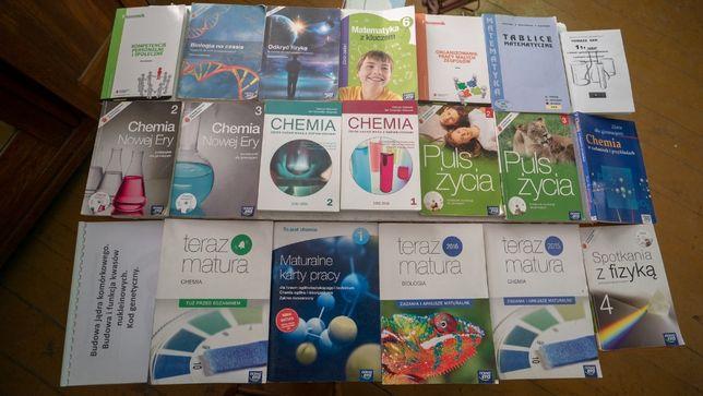 20 Książek Chemia Fizyka Biologia Zadania Zestaw