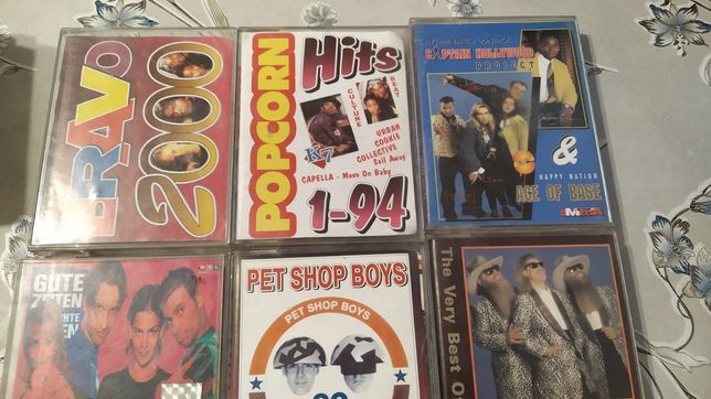 8 zestaw kaset magnetofonowych