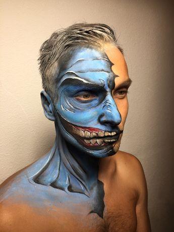 Гример на хеллоуин
