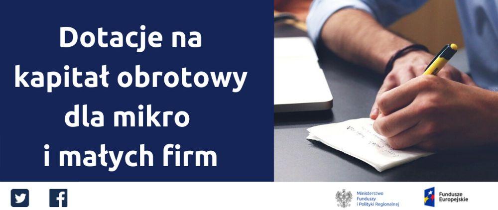 KAPITAŁ OBROTOWY wnioski rozliczenie dotacja Łódź - image 1