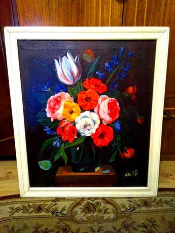"""Картина """"Ваза с цветами"""""""