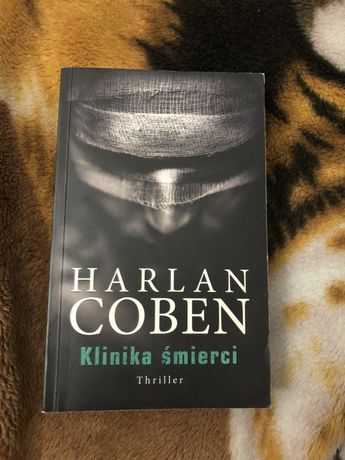 Książka ,,Klinika Śmierci'' Harlan Coben