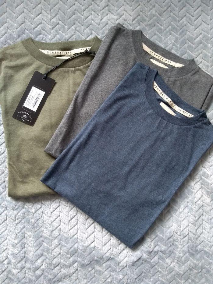 Newport Bay Sailing Club zestaw 3 T-shirt'ów Częstochowa - image 1