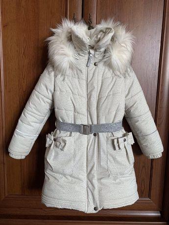 Lenne пальто для девочки 128 размер