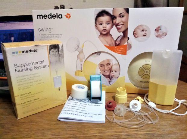 Дополнительная система кормления SNS, Medela