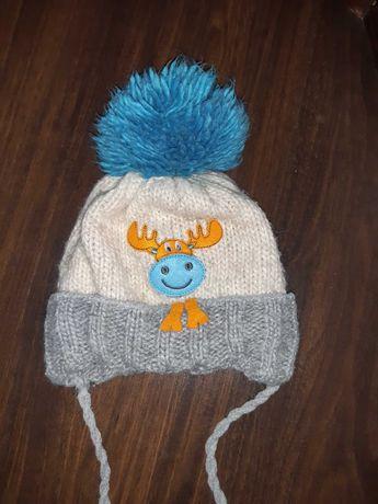 Зимова шапка 2-4роки