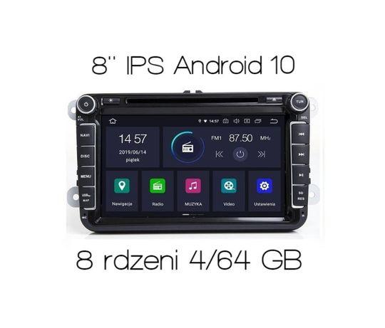 Nawigacja 2din RADIO Leon Octavia Fabia ANDROID 10 4GB RAM zPL FV23