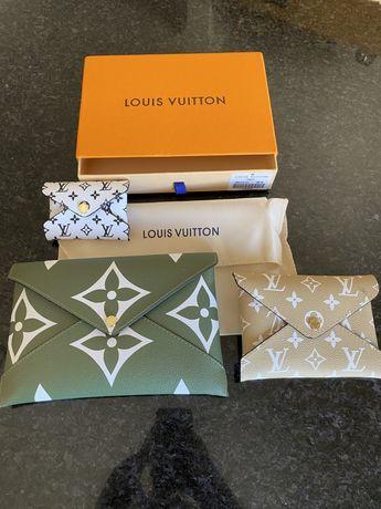 Conj 3 Bolsas Couro Louis Vuitton C/Caixa