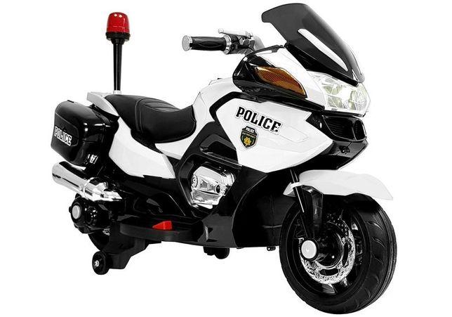 Motor na Akumulator Policja HZB118 zielony/biały/niebieski 2020
