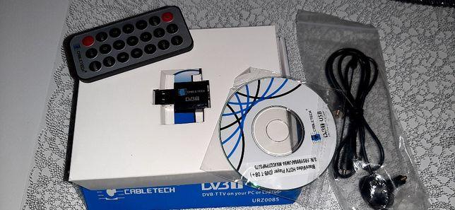 Tuner TV USB DVB-T MPEG-4 HD Karta Telewizyjna