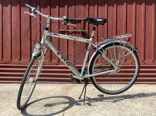 CYCO tk-life niemiecki alu trekingowy rower 28cali stan idealny