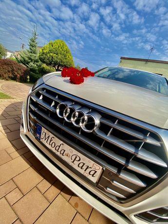 Samochód Auto do ślubu, Audi Q5 Białe. 0d 400zł przystrojenie w cenie!