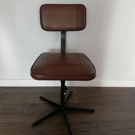 Krzesło PRL medyczne typ M/B. Loft. Metalowiec