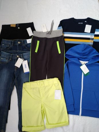 5-7 лет H&M новые шорты спорт штаны джинсы брюки свитер байка худи