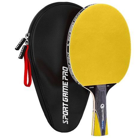 Ракетка для настольного тенниса SPORT GAME PRO + чехол #теніс #тениса