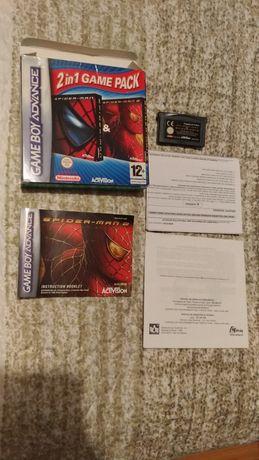 Pack duplo spiderman gameboy advance, game boy