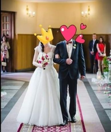 Suknia ślubna Agnes + GRATISY