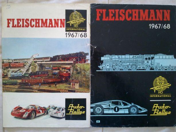 Catalogo Fleischmann comboios / brinquedos HO 1967/1968, em Alemão