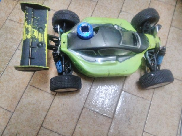 Carro gasolina rc